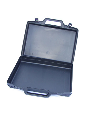 Storage case without inlay