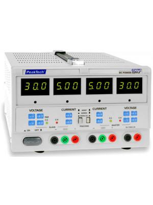 DC Laboratory Power Supply<br>2 x 0-30 V / 0-5 A