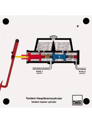 Tandem brake master cylinder