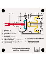 Tristop spring-brake actuator