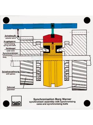 Synchronization of the transmission