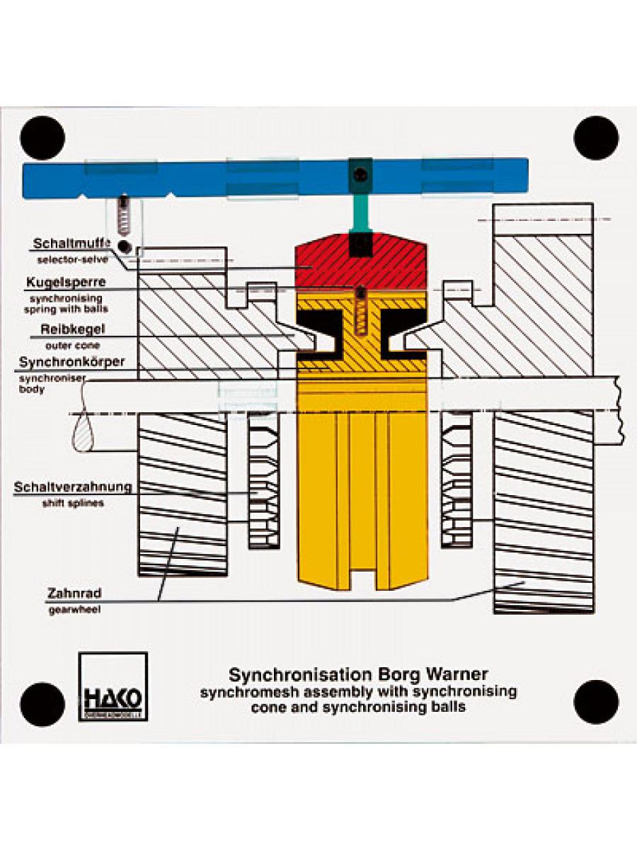 Synchronisation Getriebe