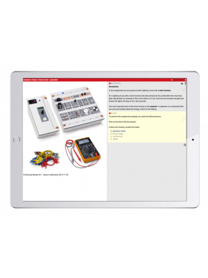 Digital work orders Automotive Electronics and Actuator Trainer