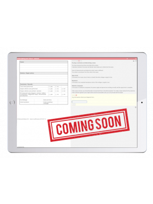 Digital work orders Automotive High Voltage Safety Trainer