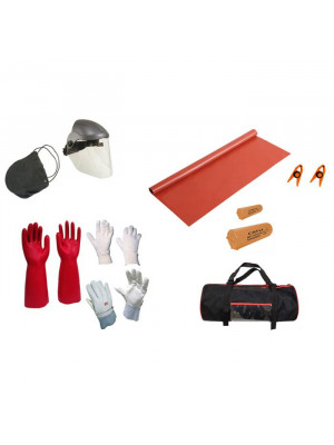 Set of personal protective equipment