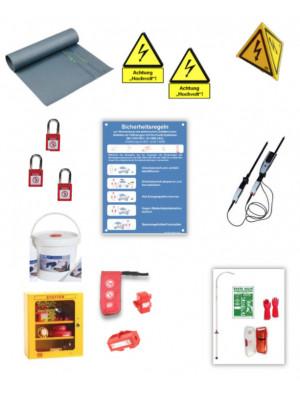 Set of equipment for a HV workshop (German only)