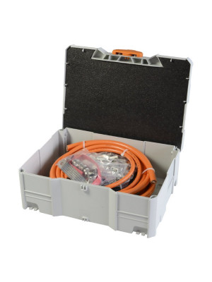 Option Assembly Kit High-Voltage Cables: Set of expendable materials for 6 students