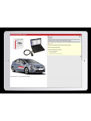 Digital work orders Training Vehicle Hybrid PlugIn