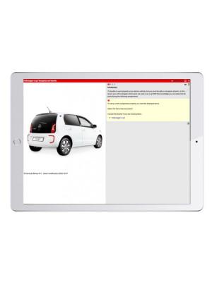 Digital work orders Training Vehicle Electric
