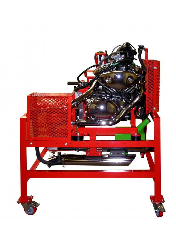 moteur de moto 1 2 cylindres carburateur 527900001 ecoline. Black Bedroom Furniture Sets. Home Design Ideas