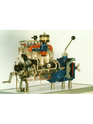Glass Motor and Power Train, electrical drive