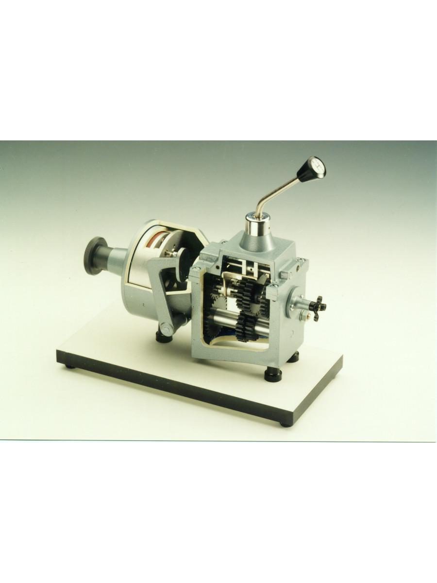 Instruction Model Gear, 3 Forward Speeds and Reverse