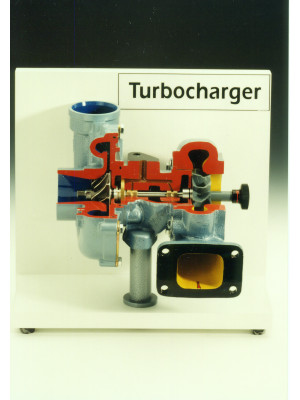 Turbo Charger Cutaway Model (Genuine Part)