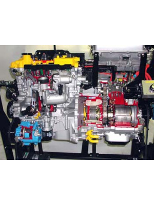 Schnittmodell Hybrid Antrieb (TOYOTA Prius 3)
